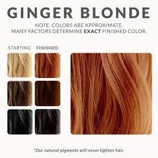 lighten you dyed black hair naturally ginger blonde henna hair dye color pinterest blonde henna