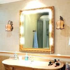 full length mirror with light bulbs full mirror with lights vivaskor com