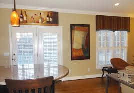 dining room valance greensboro interior design window treatments greensboro custom