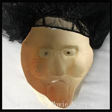 Saw Mask Halloween Party Cosplay Men U0027s Silicone Face Mask Saw Cosplay Movie