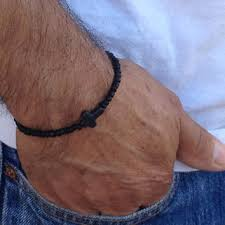 beaded bracelet with cross images Mbracemen on etsy on wanelo jpg
