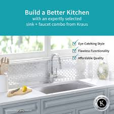 kitchen sink and faucet combinations stainless steel kitchen sink combination kraususa