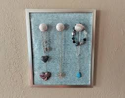 Jewelry Wall Hanger Jewelry Hanging Organizer U2013 Diy Dollar Tree Crafts