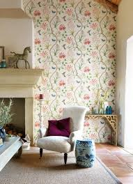 Home Wallpaper Decor by Clementine 213388 Wallpaper Sanderson Luxury Fabrics