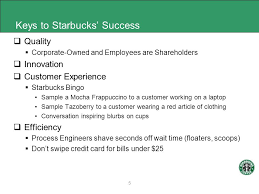 Starbucks Business Cards In The People Business Serving Coffee U201d Ppt Download