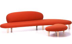 Ottoman Sofa Noguchi Freeform Sofa Hivemodern