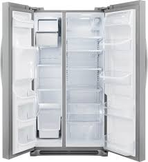 frigidaire gallery 26 0 cu ft frost free side by side