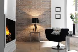 shelves for brick walls white modern arch lamp black polished wooden wall corner shelves