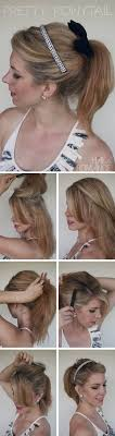 hairstyles with steps the best step by step ponytail tutorials