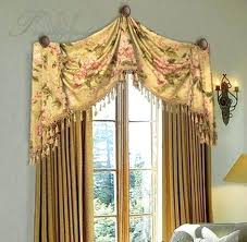 Swag Valances For Windows Designs Swag Bedroom Curtains Raised Arch Swag Valance With Jabots Bedroom