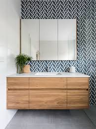 feature tiles bathroom ideas 15 stunning bathrooms that don t use white tiles timber vanity