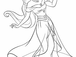 coloring pages excellent jasmine coloring pages 2 aladdin