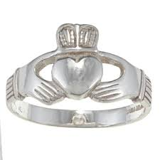 mens claddagh ring silvermoon sterling silver men s claddagh ring free shipping on