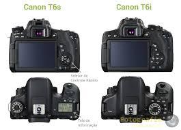 canon t6s e canon t6i fotografia dicas