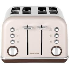 Morphy Richards Accent Toaster Red Morphy Richards Accents 242102 4 Slice Toaster Pebble