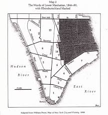 Little Italy Nyc Map by The Short Life Of Little Germany New York U0027s First Ethnic Enclave
