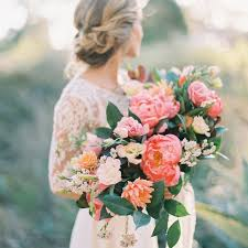 bridal bouquet ideas 44 fresh peony wedding bouquet ideas brides