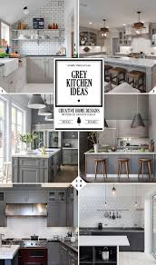 Gray And White Kitchen Ideas Color Guide Grey Kitchen Ideas Home Tree Atlas