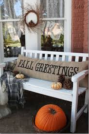 Home Decor With Burlap Fall Decor Inspiration Setting For Four