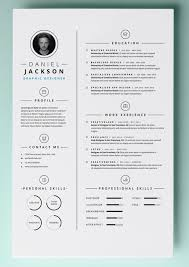 cv design graphic resume templates circles template designer cv ai free
