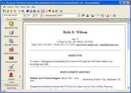 Smart Resume Builder Resume Builder Online Resume Builder