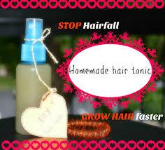 homemade hair tonic l grow hair faster l less hair fall l scalp