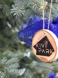 beautiful tree ornaments to help support kivi park