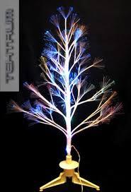 topseller tektrum 32 white fiber optic lights twig tree with