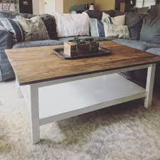 farmhouse coffee and end tables can i turn this ugly table into a farmhouse coffee table can i do