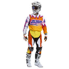 purple motocross gear axo 2015 dyemax mx jersey and pants package orange yellow pink