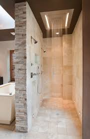 Bathroom Shower Walls Quartz Shower Walls Bathroom Contemporary With Beige Wall