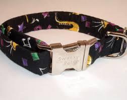 mardi gras collar etsy jazz dog collar etsy