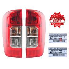 nissan genuine accessories uk pair tail light genuine part fits nissan navara np300 2014 2016