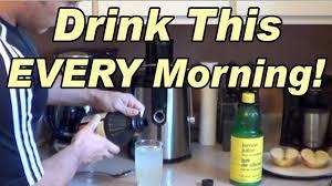 Does Lemon Water Make You Go To The Bathroom Drink This Every Morning Lemon Juice U0026 Apple Cider Vinegar