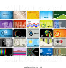 free credit card template royalty free stock rainbow designs of marketing business cards digital collage of business card or credit card template designs