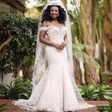african plus size wedding dresses retro lace beaded off the