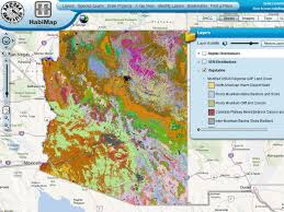 Yuma Az Map Arizona Habitats The Arizona Experience Landscapes People