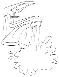 coloring pages water safety water safety coloring pages water coloring pages plus running water