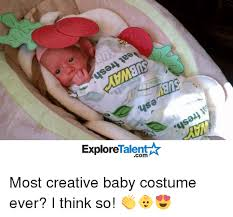 Meme Baby Products - sa talent explore most creative baby costume ever i think so