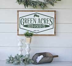 farmhouse sign farmhouse decor tractor decor home and livng home