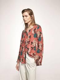 s blouses on sale autumn summer 2017 s silk flower print shirt at