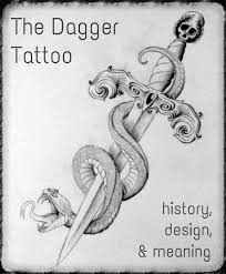 dagger tattoos ideas designs and meanings tatring