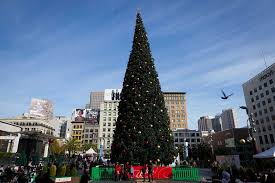 christmas tree lighting near me union square christmas tree lighting 2017 union square shopping