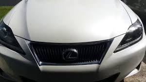 lexus is 250 kansas city lexus 2013 is250 hid light change youtube