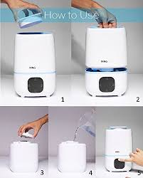 humidificateur d air chambre bébé 3 0litre humidificateur bébé silencieux jusqu à 45 m