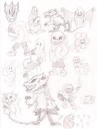 undertale sketch dump by meetjohndoe on deviantart