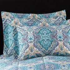 mainstays monique paisley coordinated bedding set walmart com