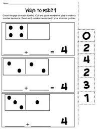addition addition sentences worksheets kindergarten free math