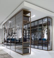 armadio con ante in vetro ego la cabina armadio in vetro arredare con stile