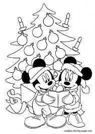 mickey mouse christmas coloring pages regarding encourage to color